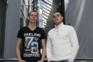 Maksim Kapynov and Gennadiy Shkodin